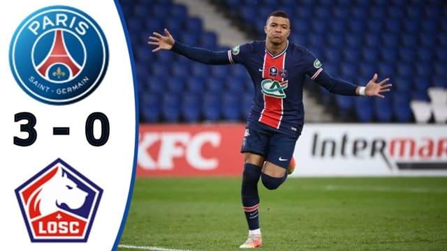 Video Highlight PSG - Lille