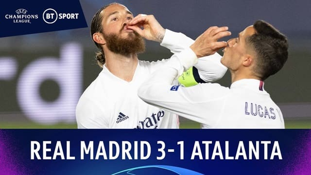 Video Highlight Real Madrid - Atalanta