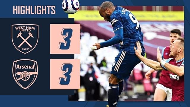 Video Highlight West Ham - Arsenal
