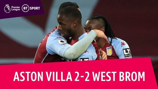 Video Highlight Aston Villa - West Brom