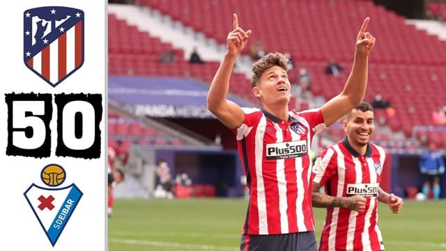 Video Highlight Atletico Madrid - Eibar
