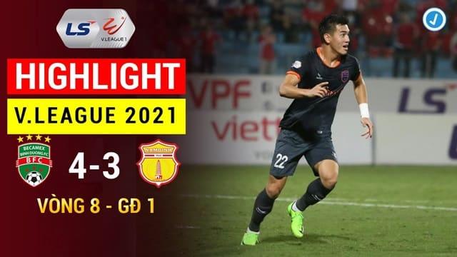 Video Highlight Bình Dương - Nam Định