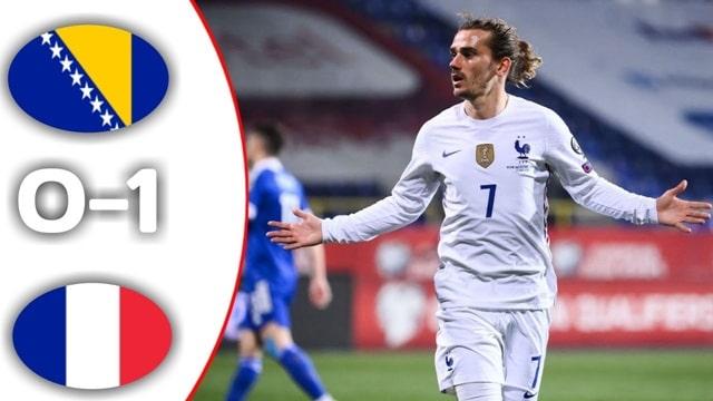 Video Highlight Bosnia - Pháp