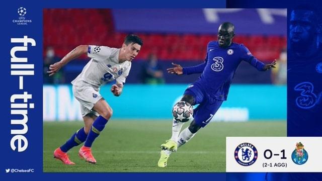 Video Highlight Chelsea - Porto