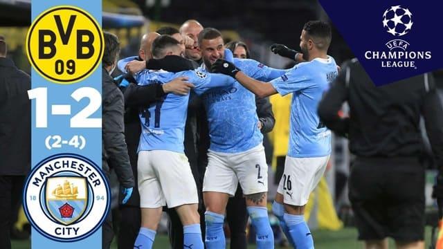 Video Highlight Dortmund - Man City