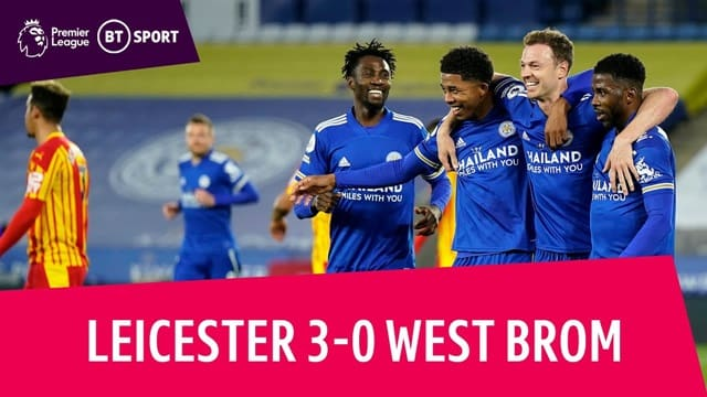 Video Highlight Leicester - West Brom