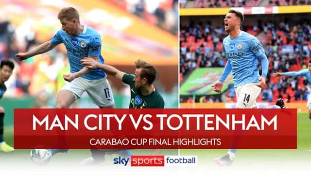 Video Highlight Man City - Tottenham