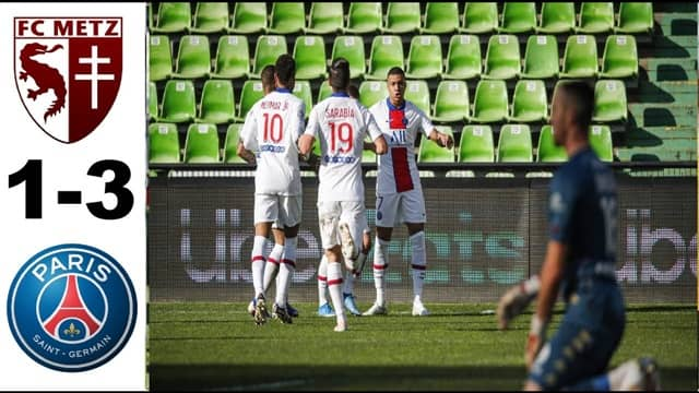 Video Highlight Metz - PSG