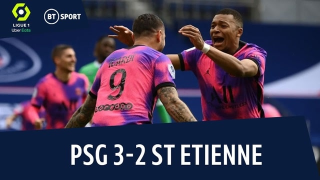 Video Highlight PSG - St Etienne