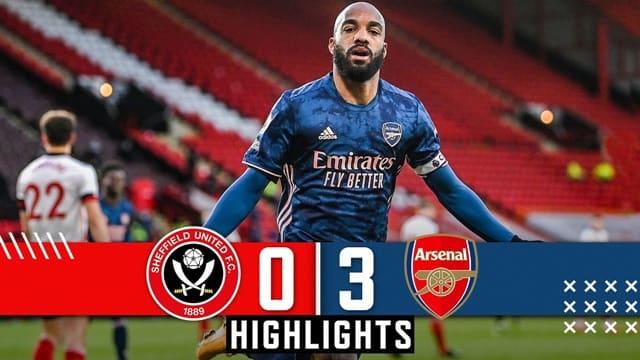 Video Highlight Sheffield United - Arsenal