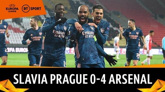 Video Highlight Slavia Praha - Arsenal