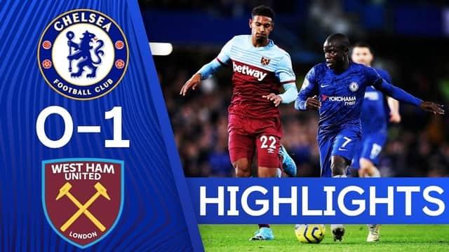 Video Highlight West Ham - Chelsea