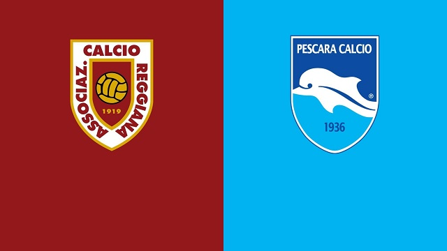 Pescara vs Reggiana, 19h00 - 04/05/2021 - Hạng 2 Italia