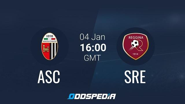Reggina vs Ascoli, 19h00 - 04/05/2021 - Hạng 2 Italia