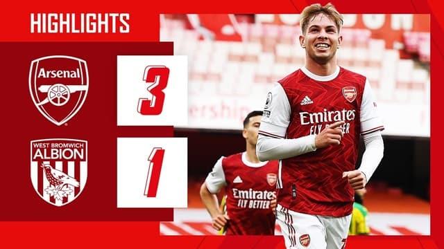 Video Highlight Arsenal - West Brom