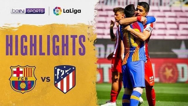 Video Highlight Barcelona - Atletico Madrid