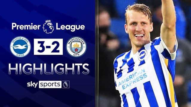 Video Highlight Brighton - Man City