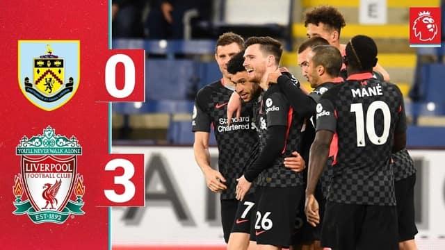 Video Highlight Burnley - Liverpool