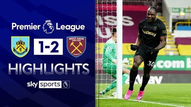 Video Highlight Burnley - West Ham