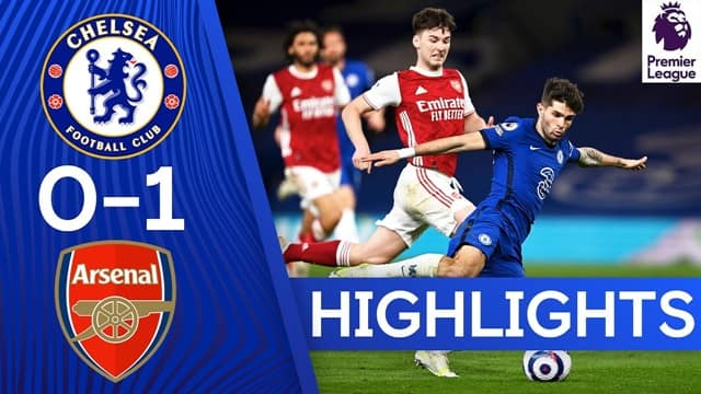 Video Highlight Chelsea - Arsenal