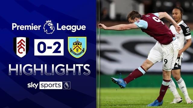 Video Highlight Fulham - Burnley