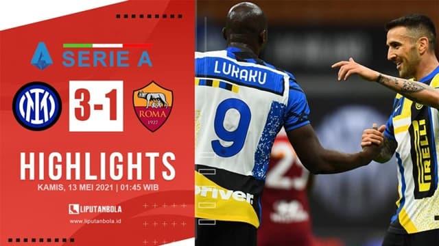 Video Highlight Inter Milan - AS Roma