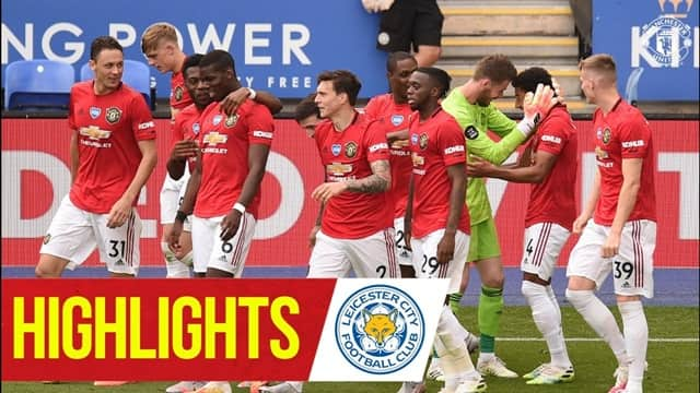 Video Highlight MU - Leicester