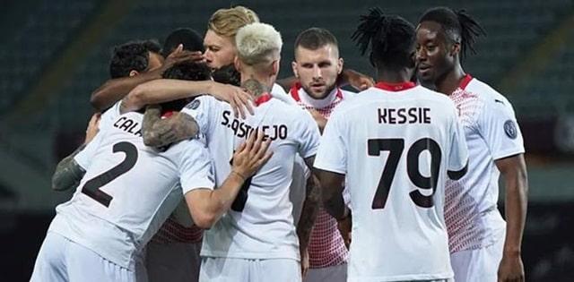 AC Milan bùng nổ trong hiệp 2 với thêm 5 bàn thắng, Rebic góp vui với một cú hat-trick trong hiệp 2