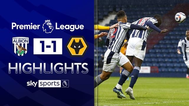 Video Highlight West Brom - Wolves