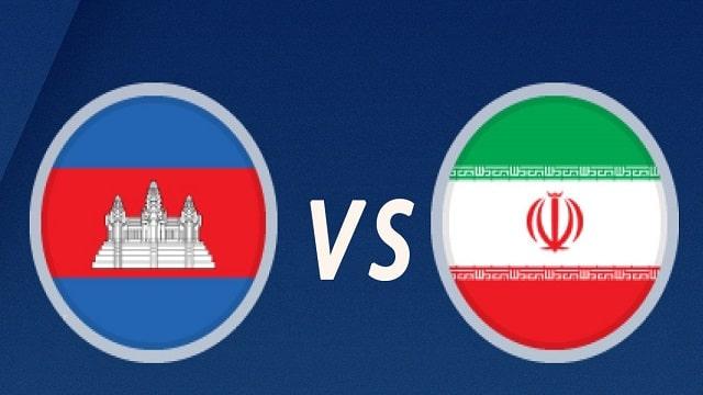 Cambodia vs Iran, 21h30 - 11/06/2021 - Vòng loại Wolrd cup khu vực châu Á