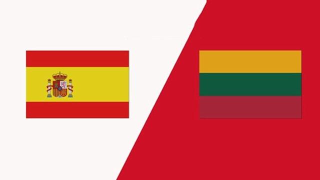 Tây Ban Nha vs Lithuania, 01h45 - 09/06/2021 - Giao hữu quốc tế