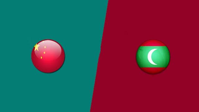 Trung Quốc vs Maldives, 00h00 - 12/06/2021 - Vòng loại Wolrd cup khu vực châu Á
