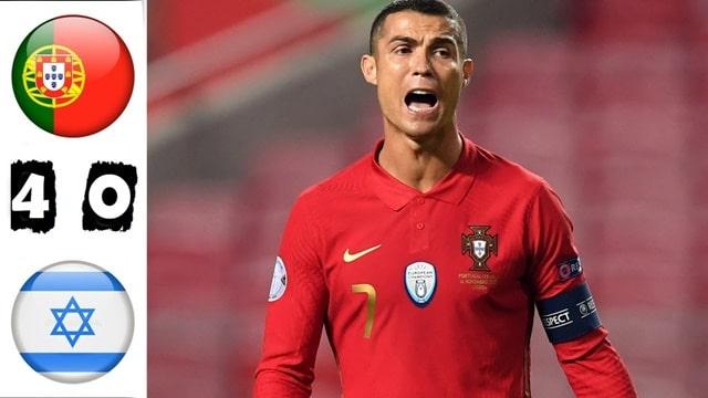 Video Highlight Bồ Đào Nha - Israel