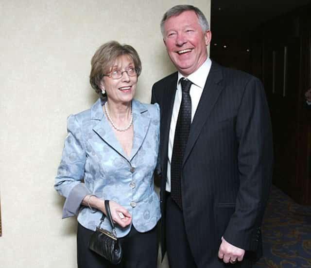 Alex Ferguson và vợ