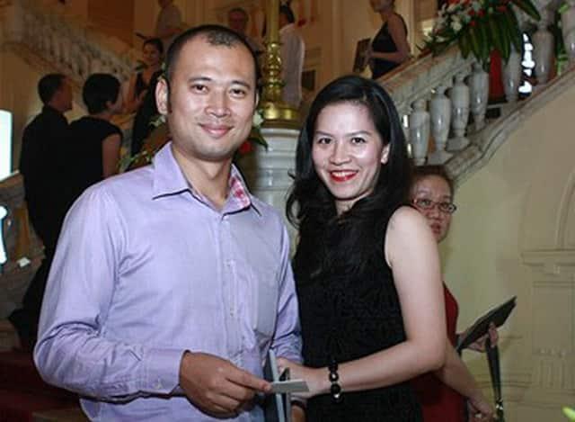 BLV Long Vũ và vợ