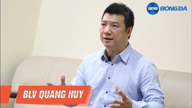 Phong cách bình luận của BLV Quang Huy