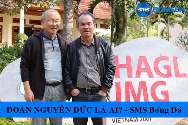 Đoàn Nguyên Đức và HLV Park Hang Seo