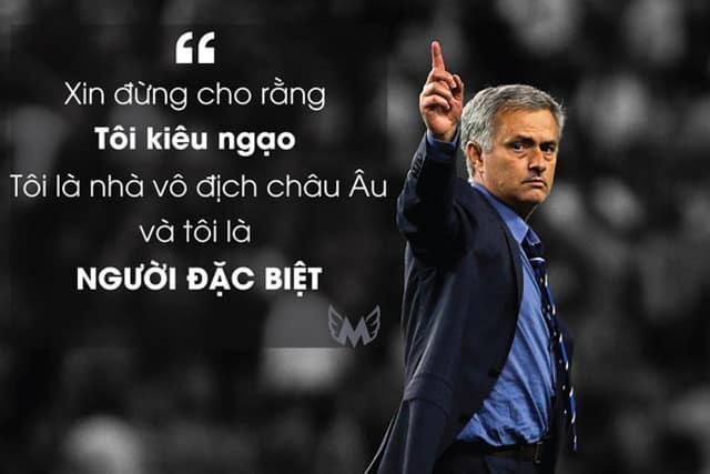 José Mourinho từng có nhiều phát ngôn gây tranh cãi