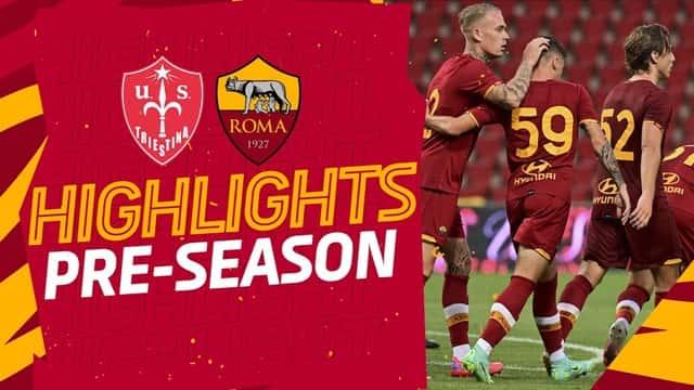Video Highlight Triestina - AS Roma