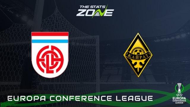 Kairat vs Fola, 21h00 – 26/08/2021 – Europa Conference League