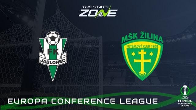 Zilina vs Jablonec, 23h00 – 26/08/2021 – Europa Conference League