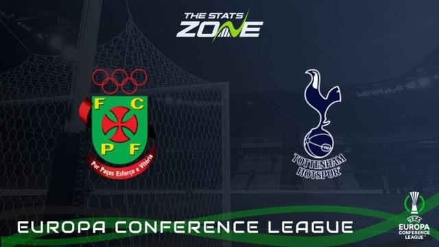Pacos Ferreira vs Tottenham, 01h30 – 20/08/2021 – Europa Conference League