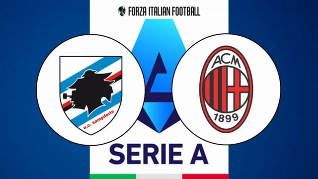 Sampdoria vs Milan, 01h45 - 24/08/2021 - Cup Quốc Gia Italia