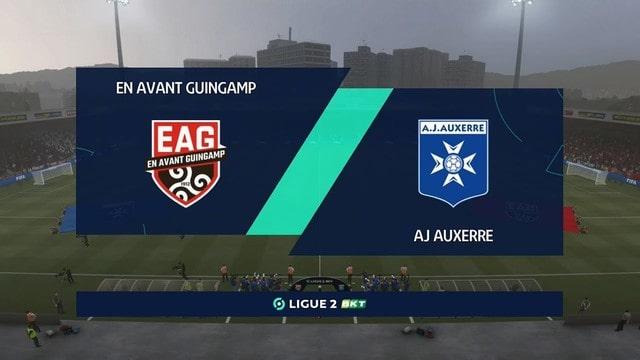 Auxerre vs Guingamp, 01h45 - 24/08/2021 - Hạng 2 Pháp