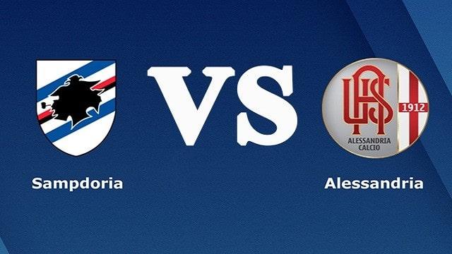 Sampdoria vs Alessandria, 02h00 - 17/08/2021 - Cup Quốc Gia Italia