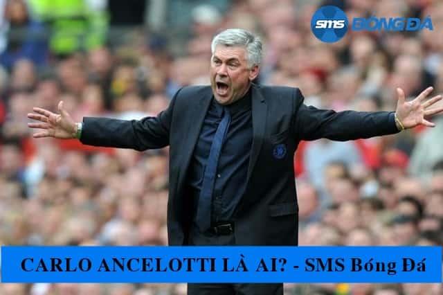 Carlo Ancelottitừng là cầu thủ giỏi của nước Ý