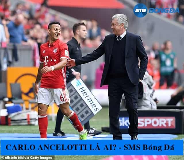 Carlo Ancelottilà một HLV tài ba nhưng không quá nghiêm khắc