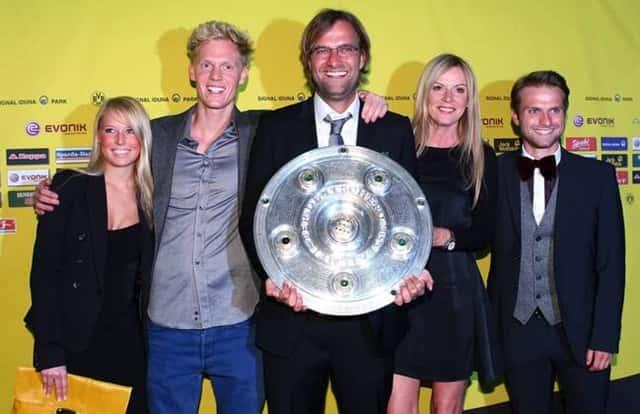 Jurgen Klopp cùng gia đình