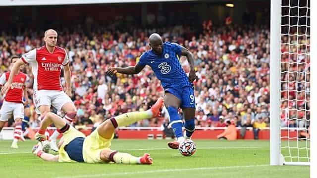 Lukaku mở tỷ số cho Chelsea từ sớm