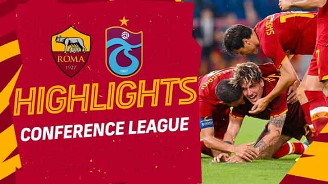 Video Highlight AS Roma - Trabzonspor